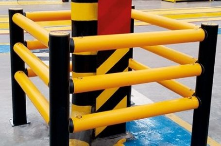 Protections For Industrial And Corner Columns Increase Safety