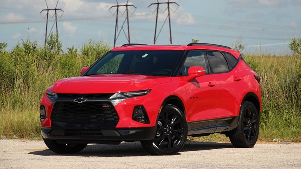 Experience the Sharp Drive Dynamics in 2020 Chevrolet Blazer