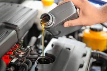 What does Oil lubricate in an Engine?